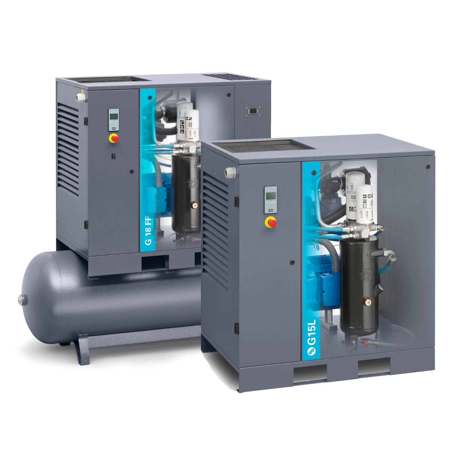 Screw compressor technology explained | Atlas Copco