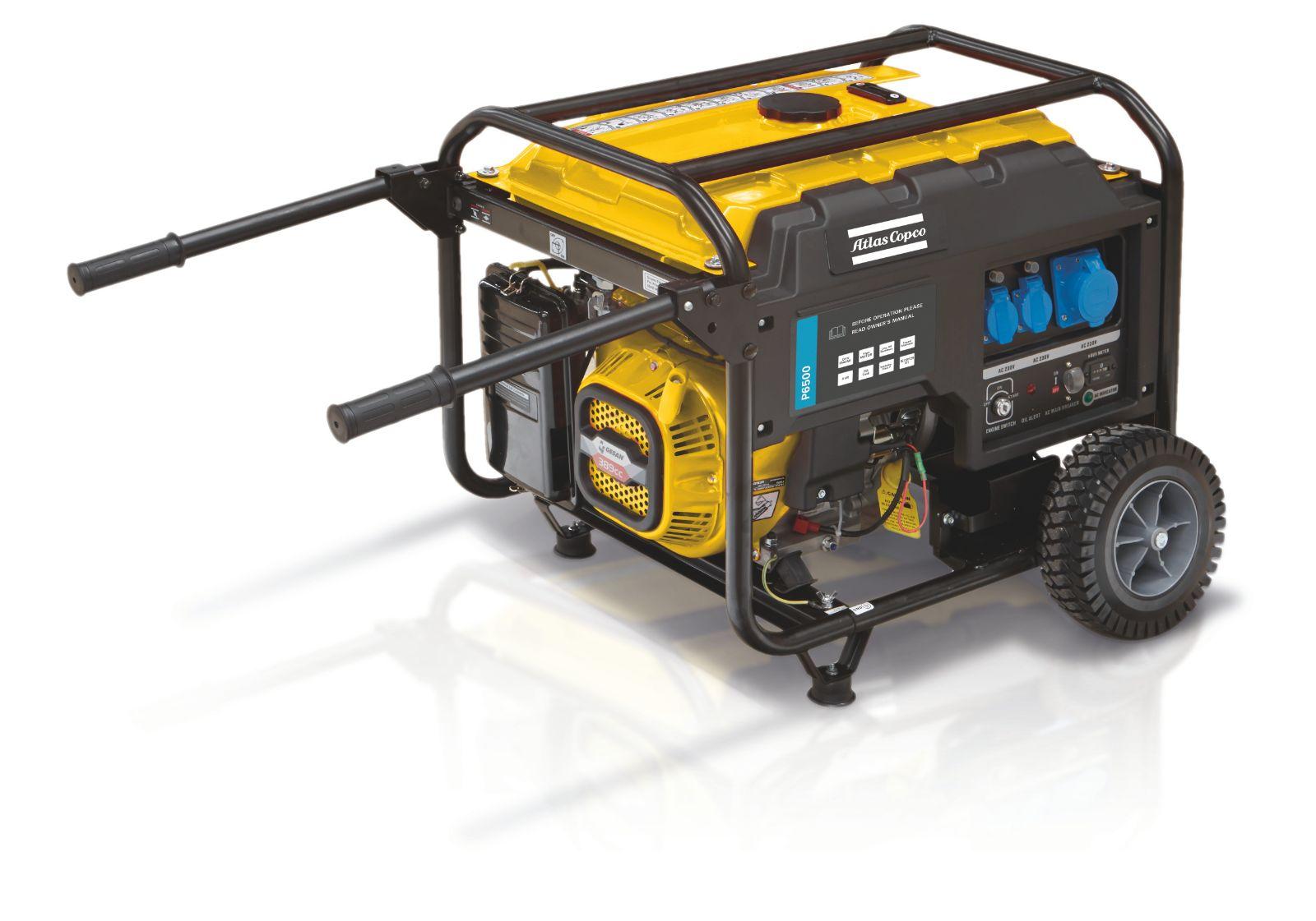 Portable diesel generators | Atlas Copco